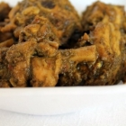 Mint Coriander Chicken Curry / Pudhina Kothamali Chicken