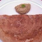 Wheat Flour Dosa / Peanut Chutney (Groundnut Chutney)