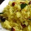 Lemon Rice / Elumichai Sadham