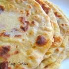 Flat bread stuffed with sweetened lentils / Opputu / Puran Poli