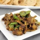 Mushroom Stir Fry / Kalan Varuval ( Restaurant Method )