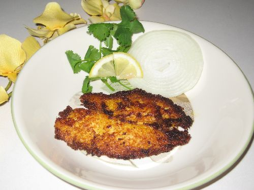 Fish Fry / Meen varuval with less Oil