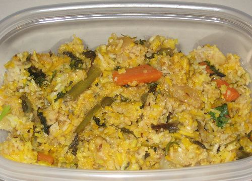 Vegetable Biryani - Method 1