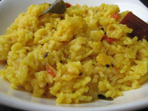 Dhal Rice / Arisi Paruppu Sadam