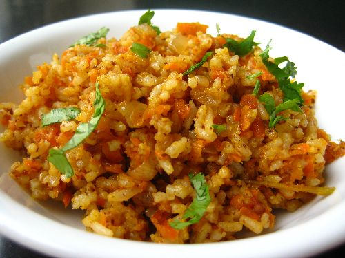 Carrot Masala Rice / Carrot Sadam