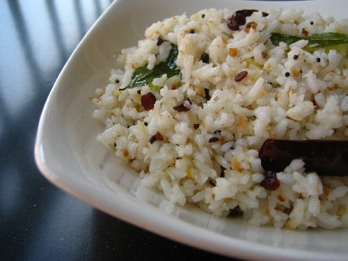 Coconut Rice / Thengai Sadam