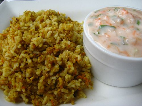 Egg Masala Fried Rice / Muttai Fried rice