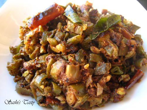 Broad Beans Fry/ Avarakkai Poriyal