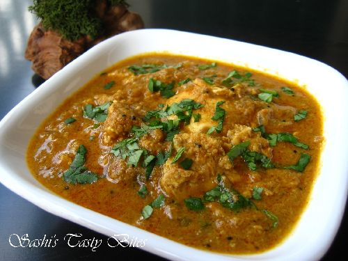 Chettinad Muttai Kuzhambu / Egg Curry