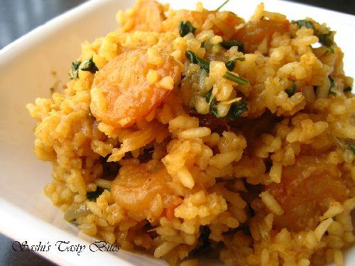 Shrimp Biryani/ Prawn Biryani