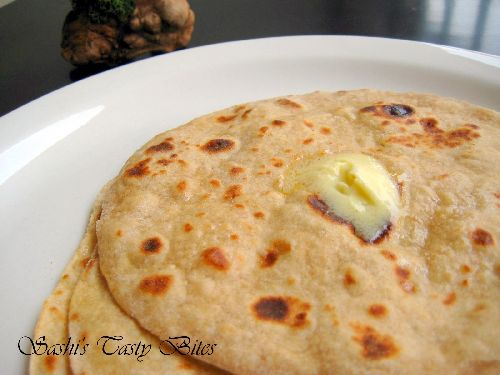 Whole Wheat Indian Flat Bread / Chapati