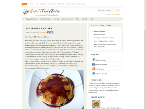 New look – A change in my blog layout