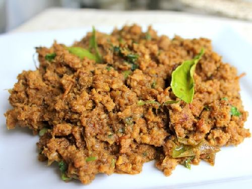 Minced Mutton Kheema/ Mutton Kothukari