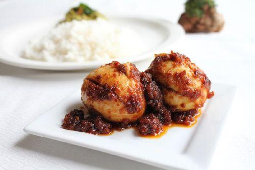 Egg Masala/ Muttai Thokku