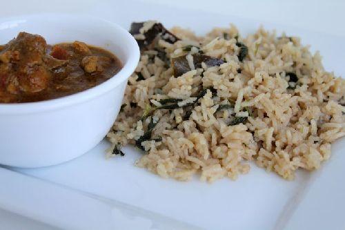 Ghee Rice/ Coconut Milk Rice