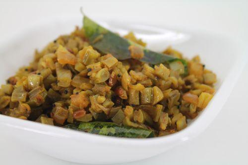 Cluster Beans Fry / Kothavarangai Poriyal