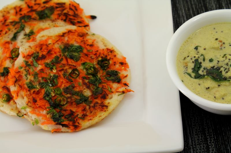 Carrot Uthappam  Oothappam