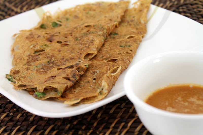 Instant Oats Wheat Dosa